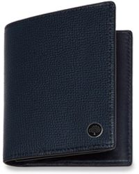 Mulberry - Trifold Wallet With Tree Plaque In Bright Navy Cross Grain Leather - Lyst
