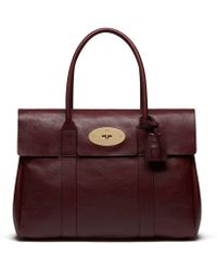 Mulberry - Bayswater Leather Bag - Lyst