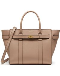 Mulberry - Small Zipped Bayswater In Rosewater Small Classic Grain - Lyst 824a0359f2c33