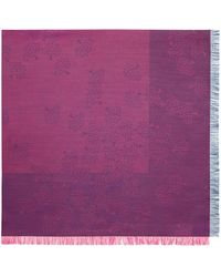 Mulberry - Tamara Square In Deep Pink And Midnight Cotton - Lyst