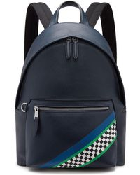 Mulberry - Zipped Backpack In Midnight Racing Stripes - Lyst