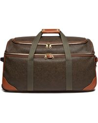 Mulberry - Albany Duffle In Mole And Cognac Scotchgrain - Lyst