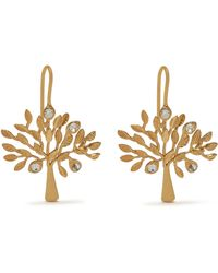 Mulberry - Tree Dropped Earrings - Lyst