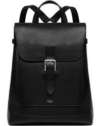 af01325ed2 Mulberry - Chiltern Backpack In Black Natural Grain Leather - Lyst