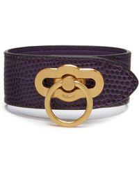 Mulberry - Amberley Bracelet - Lyst