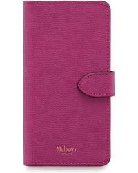 Mulberry - Iphone Flip Case - Lyst