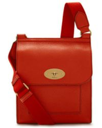 Mulberry - Small Antony In Hibiscus Red Small Classic Grain - Lyst