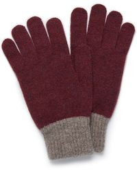 Mulberry - Knitted Gloves - Lyst