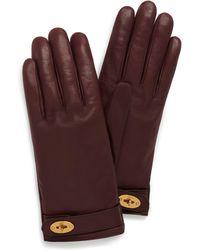 Mulberry - Darley Gloves - Lyst