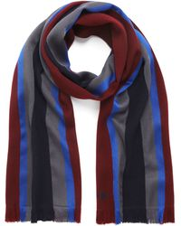 Mulberry - Woven College Stripe Scarf - Lyst