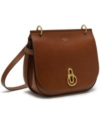 69656da4e0 Mulberry Abbey Oak Small Classic Grain Leather Bucket Bag in Brown ...