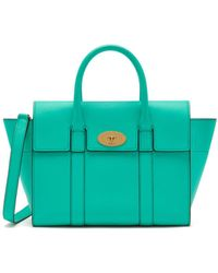 Mulberry - Small Bayswater In Persian Green Small Classic Grain - Lyst