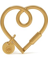 Mulberry - Looped Heart Keyring - Lyst