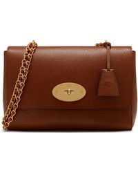 Mulberry - Medium Lily In Oak Natural Grain Leather - Lyst 2f7c11577593b