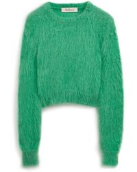 Mulberry - Melody Jumper In Jade Mohair - Lyst