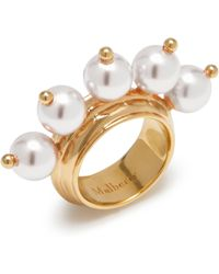 Mulberry - Pearl Ring - Lyst