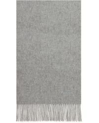 Mulberry - Small Solid Lambswool Scarf - Lyst