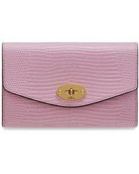 6cf281b4964 Mulberry Cheyne Leather Wallet in Black - Lyst