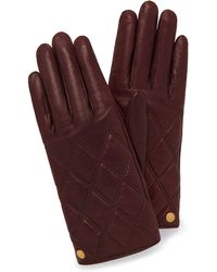 Mulberry - Quilted Nappa Gloves - Lyst