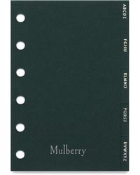 Mulberry - New Pocket Book Contacts Dividers - Lyst