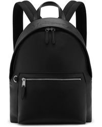 Mulberry - Zipped Backpack In Black Small Classic Grain - Lyst
