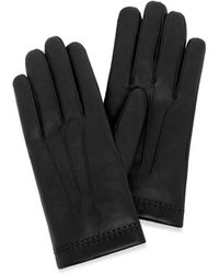 Mulberry - Men's Soft Nappa Gloves In Black Nappa Leather - Lyst