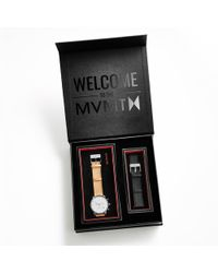 mvmt Default Title Caramel Box oakley fuse box unobtainium rubber strap watch in black for men lyst oakley fuse box at reclaimingppi.co