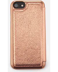 Ted Baker - Cedar Textured Iphone Book Case - Lyst