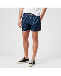 Ted Baker - Gusty All Over Print Swim Shorts - Lyst