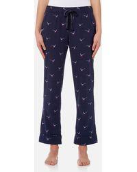 Joules - Snooze Woven Pyjama Bottoms - Lyst