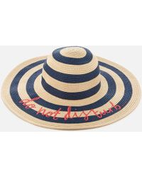 Joules - Do Not Disturb Hello Sunshine Sun Hat - Lyst