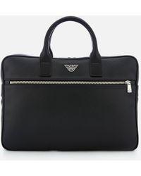 Emporio Armani - Small Briefcase - Lyst