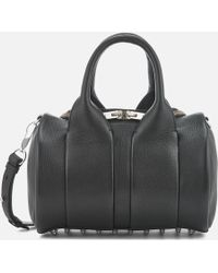 Alexander Wang - Rockie Studded Pebble Leather Bag - Lyst