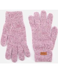 Barbour - Donegal Knitted Gloves - Lyst