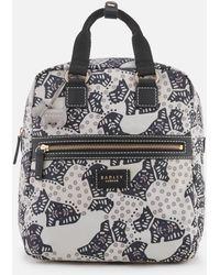 Radley - Folk Dog Medium Ziptop Backpack - Lyst