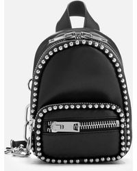 Alexander Wang - Attica Soft Mini Cross Body Backpack With Ballchain - Lyst