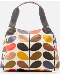 Orla Kiely - Stem Classic Zip Shoulder Bag - Lyst