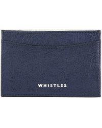Whistles - Metallic Card Holder - Lyst
