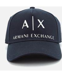 Armani Exchange - Logo Cap - Lyst