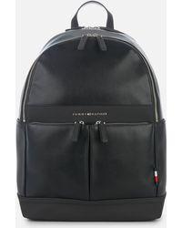 e744b102bbf Tommy Hilfiger Playful Novelty Backpack,  s Black, 19x46x30 Cm (b ...