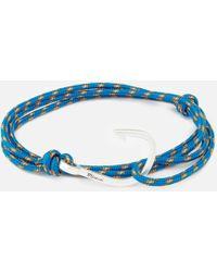 Miansai - Rope Bracelet With Silver Hook - Lyst