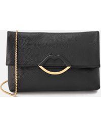 Lulu Guinness - Issy Half Covered Lip Shoulder Bag - Lyst