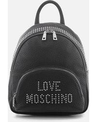 Love Moschino - Logo Backpack - Lyst