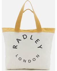 Radley - Graphic Large Ziptop Tote Bag - Lyst