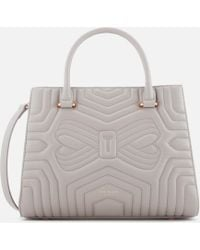 Ted Baker - Vieira Quilted Bow Tote Bag - Lyst