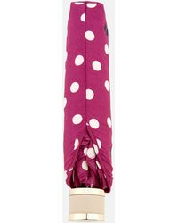 Radley - Vintage Dog Dot Mini Telescopic Umbrella - Lyst