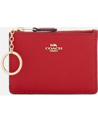COACH - Women's Crossgrain Mini Skinny Id Wallet - Lyst