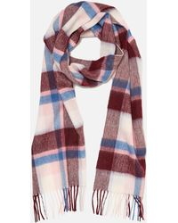 Barbour - Country Plaid Scarf - Lyst