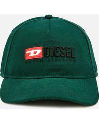 DIESEL - Baseball Cap - Lyst