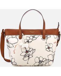 Radley - Linear Flower Medium Multiway Tote Bag - Lyst
